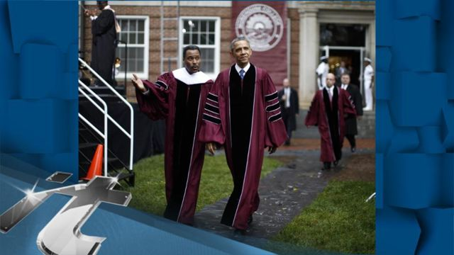 News video: Obama Urges Morehouse Graduates to 'Keep Setting an Example'